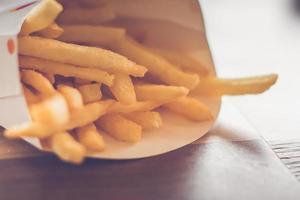 frites en boîte