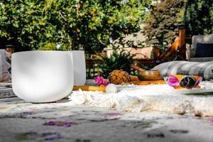 lieu de méditation zen photo
