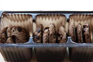 cookies dans un paquet photo