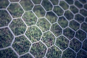 Détail de fond de filets de football, football football