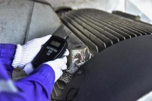 testeur de vibrations portable photo
