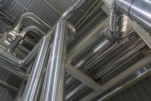 tuyaux métalliques en acier photo