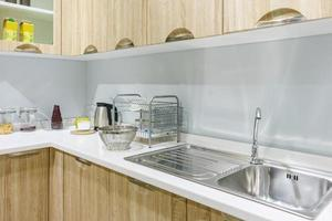 comptoir de cuisine moderne