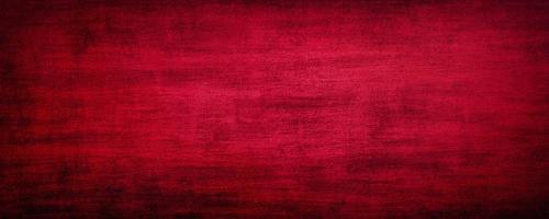 Fond de mur de ciment de sang rouge abstrait avec du béton de fond rayé et moderne avec une texture rugueuse, tableau noir. Texture stylisée rugueuse art béton photo