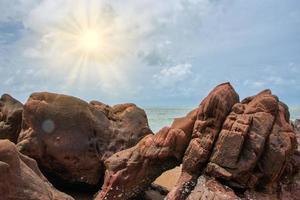 roches avec ciel