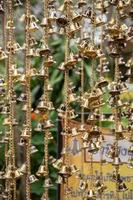 anneaux de cloche en or