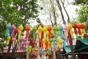 lanternes chinoises en papier