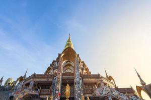 temple à wat phra que pha son kaeo photo