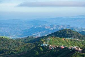 paysage à phu tubberk en thaïlande photo