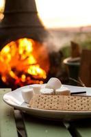 smores près du feu