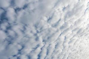 nuages blancs sur le ciel photo