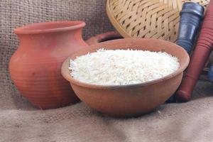 riz cru frais