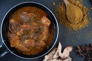 curry massaman thaï