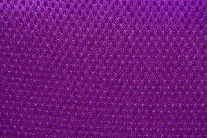 tissu en nylon violet fond texturé de forme hexagonale photo
