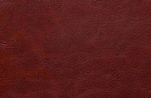 coup plein cadre de fond en cuir rouge