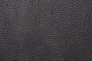 macro texture fragment de papier peint en cuir noir photo