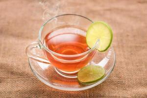 thé chaud au citron photo
