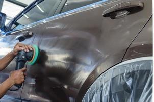 équipement de polissage de voiture photo