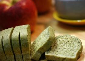 miche de pain de grains entiers photo