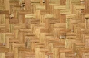 motif de tissage en bambou photo