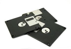 disquettes noires photo