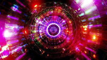 réflexion abstraite néons couleurs rougeoyantes illustration 3d fond papier peint conception oeuvre photo