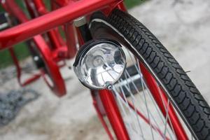 détail de pièces de vélo photo