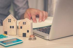 concept d'entreprise immobilier photo