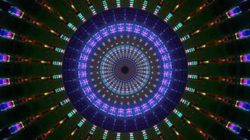 rotation ronde réflexion visuel 3d illustration fond papier peint conception oeuvre