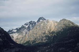 Lomnicky stit mountain en slovaquie