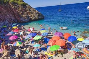 plage de Sicile, Italie