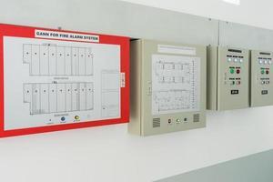 système de contrôle d'incendie industriel