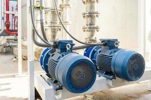 canalisation de pompe à eau photo