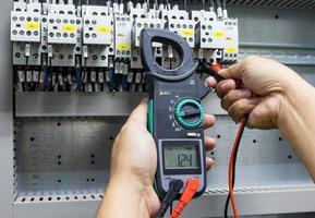 multimètre de testeur électrique photo