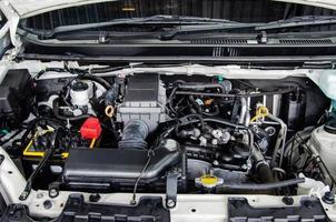 détail de moteur de voiture