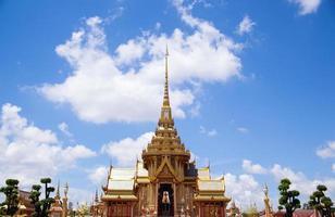 temple bouddhiste en thaïlande photo