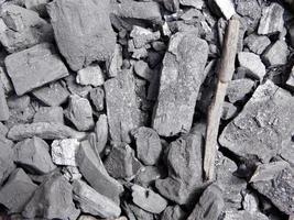 texture de charbon sec photo