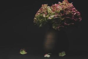 fleurs sombres et maussades photo