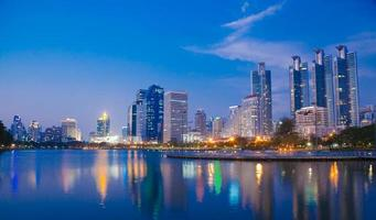 gratte-ciel à bangkok
