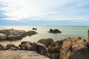 grand-père rock beach en thaïlande