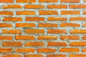 mur de briques rouges pour la texture ou l'arrière-plan photo