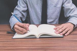 rédaction professionnelle dans un livre