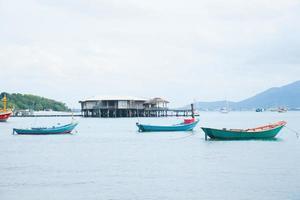 petits bateaux de pêche photo