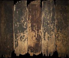bois rustique foncé photo