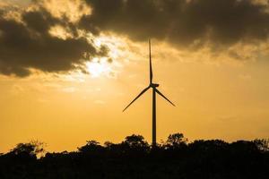éolienne en thaïlande photo