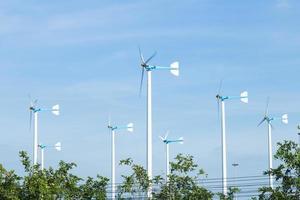 éoliennes produisant de l'électricité photo