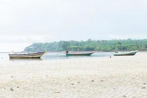 bateaux de pêche en thaïlande photo