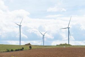 éoliennes à la campagne photo