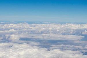 beau ciel bleu photo