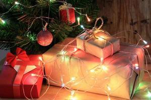 cadeaux et lumières